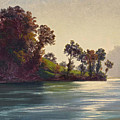 Lake Scene by Robert Zuend