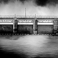 Lake Shelbyville Dam by Theresa Campbell