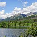 Lake Shtrbske  by Uri Baruch