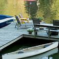 Lake-side Dock by E Faithe Lester