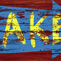 Lake Sign by JQ Licensing