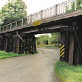 Lake St. Rr Overpass by Ferrel Cordle