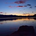 Lake Sunset by Branden Kruis