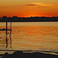 Lake Sunset by D Nigon