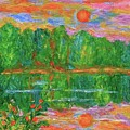 Lake Sunset by Kendall Kessler