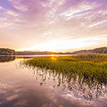 Lake Sunset by Raul Perez