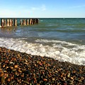 Lake Superior At Whitefish Point by Michelle Calkins