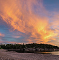 Lake Superior Sunset Sky by Les Palenik