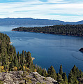 Lake Tahoe Emerald Bay Panorama by Noel Baebler