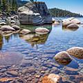 Lake Tahoe Rocks by Dianne Phelps