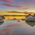 Lake Tahoe Spring Sunset Reflection by Scott McGuire