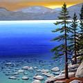 Lake Tahoe Sunrise by Frank Wilson