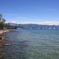 Lake Tahoe Waterscape by Carol Groenen