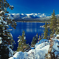 Lake Tahoe Winter by Vance Fox
