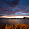 Lake Taupo Sunset by Marc Garrido