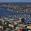 Lake Union Seattle by Debby Richards