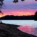 Lake View Sunset by Patricia L Davidson