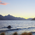 Lake Wakatipu At Sunset by Catherine Sherman