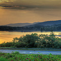 Lake Washington And Route 209 by Mike  Deutsch