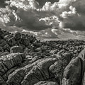 Lake Watson Granite Rocks Prescott Arizona Bnw 2482 by David Haskett II