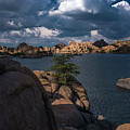 Lake Watson Prescott Arizona 2498 by David Haskett II