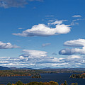 Lake Winnipesaukee New Hampshire In Autumn by Stephanie McDowell