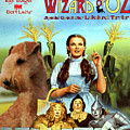 Lakeland Terrier Art Canvas Print - The Wizard Of Oz Movie Poster by Sandra Sij