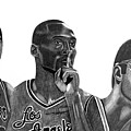 Laker Greats by Keeyonardo