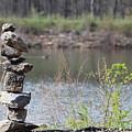 Lakeside Stone Art by JB Stran