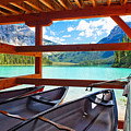 Lakeview From The Boathouse by George Oze
