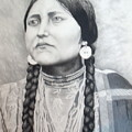 Lakota Woman by John Huntsman