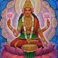 Lakshmi Blessing by Sue Halstenberg
