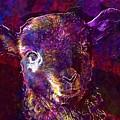 Lamb Spring Cute Animal  by PixBreak Art