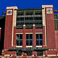 Lambeau Field Green Bay Packers by Tommy Anderson