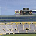 Lambeau Field Staduim  by Ricky L Jones