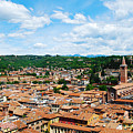 Lamberti Tower View Of Verona Italy by Just Eclectic