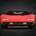 Lamborghini Countach by Mark Rogan