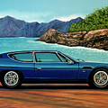 Lamborghini Espada 1968 Painting by Paul Meijering