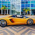 Lamborghini Gold by Lynn Davis