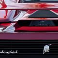 Lamborghini Rear View by Jill Reger