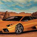 Lamborghini Reventon 2007 Painting by Paul Meijering