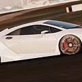 Lamborghini Sesto Elemento - 05 by Andrea Mazzocchetti