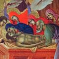 Lamentation Of Christ Fragment 1311 by Duccio