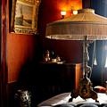 Lamp At Glensheen by Jody Scott Olson