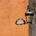 Lamp At The Corner. by Rob Huntley