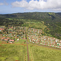 Lanai City Aerial by Ron Dahlquist - Printscapes