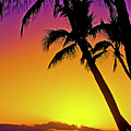 Lanai Sunset II Maui Hawaii by Jim Cazel