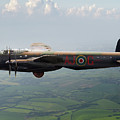 Lancaster Aj-g Carrying Upkeep by Gary Eason