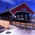 Lancaster Covered Bridge by John Burk