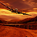 Lancaster Over Ouzelden by Nigel Hatton